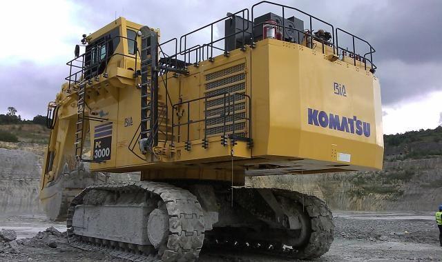 256 ton - 1260 pk - 800 kN - 8,5m3 bakinhoud