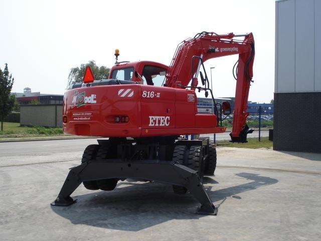 ETEC 816-II M mobiele graafmachine voor Van den Dool uit Wassenaar
