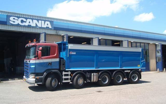 De nieuwe Scania G480 van Burggraaf B.V. met de uitgekiende asconfiguratie