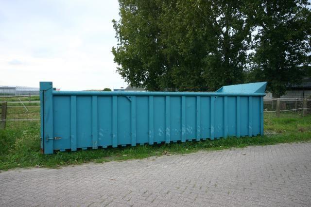 De kleur van de container komt overeen met de kleur van de gestolen container.
