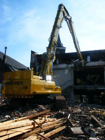 Volvo EC360C HR Demolition voor Bergevoet uit Doetinchem