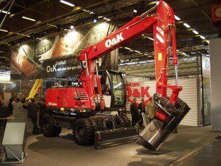 Mobiele gravers van O&K en Case worden gebouwd in Berlijn