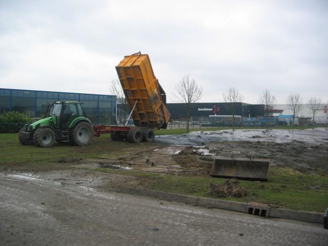 De gestolen Deutz-Fahr Agrotron 115MK2 van A. de Heer Aannemings- en Loonbedrijf B.V. in Polsbroek
