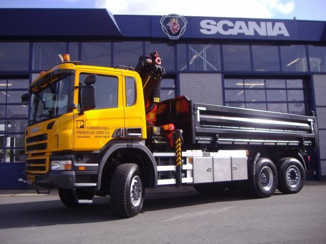 Scania P360 XPI 6x4 voor Pannekoek uit Vaassen