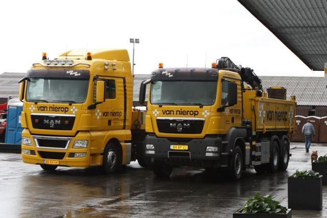 Mening Van Nierop Trucking chauffeurs mede bepalend in keuze voor twee MAN vrachtauto's