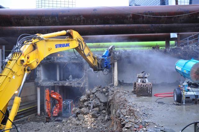 ACDE uit Duiven levert Okada sloopapparatuur voor sloop metro Rotterdam