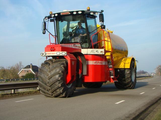 Vervaet Hydro trike voor Loonbedrijf J.M. van Vliet BV  uit Ter Aar
