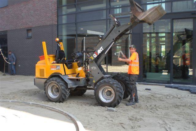 De vermiste Giant shovel van Nota straatmakers uit Sneek
