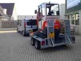 VERMIST: Ifor Williams aanhangwagen voor minigraver