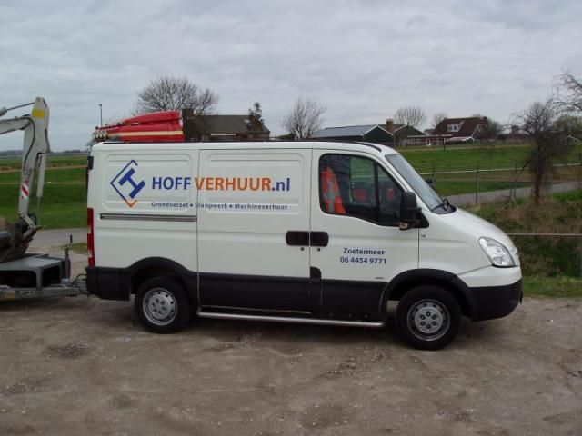 Iveco Daily voor Hoff uit Zoetermeer