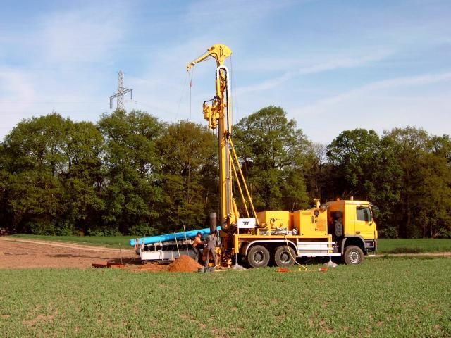 Wirth B0  grondboormachine voor Krowinkel Drilling uit Echt