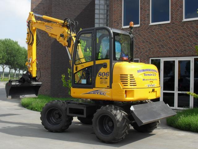 ETEC 806 M bandenkraan voor Aannemingsbedrijf Vermulm & ZN uit Moerkapelle