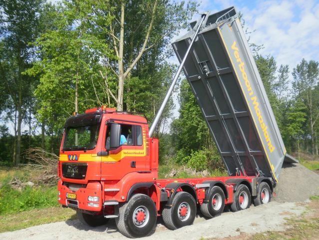 MAN TGS 50.480 WSG 10x8 voor Verboon Maasland B.V. uit Maasland