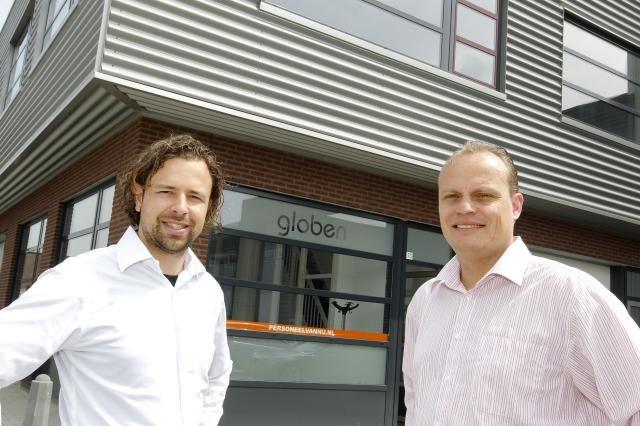 Ronald Duits (directeur/oprichter) en Remco Schaminée (vestigingsmanager Rosmalen)