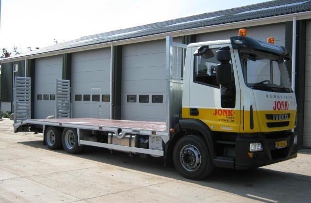 Iveco Eurocargo 3 assige oprijwagen voor Jonk BV uit Kwadijk (NH)