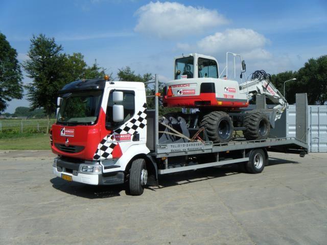 Renault oprijwagen voor Vereco uit Berkel & Rodenrijs, Leende en Zeewolde