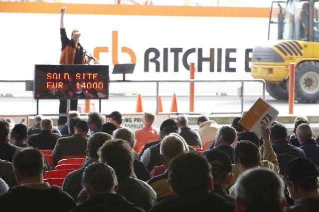 Ritchie Bros. Auctioneers verkoopt in Moerdijk 3.100 items in 2 dagen