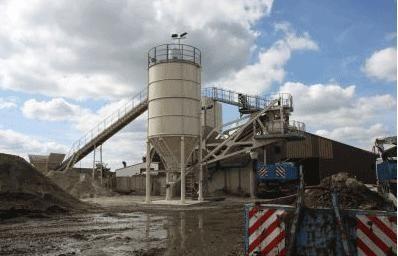 Nieuwe mobiele betoncentrale