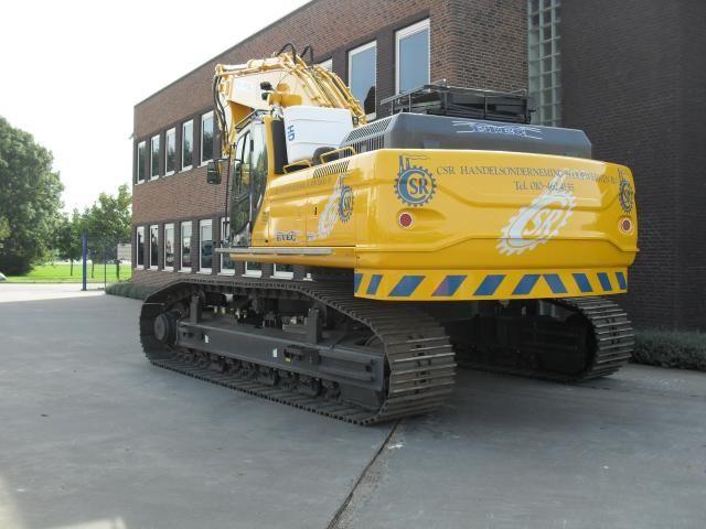 ETEC 856-II RLC sloopkraan voor  C.S.R. Sloopwerken B.V. uit Rotterdam