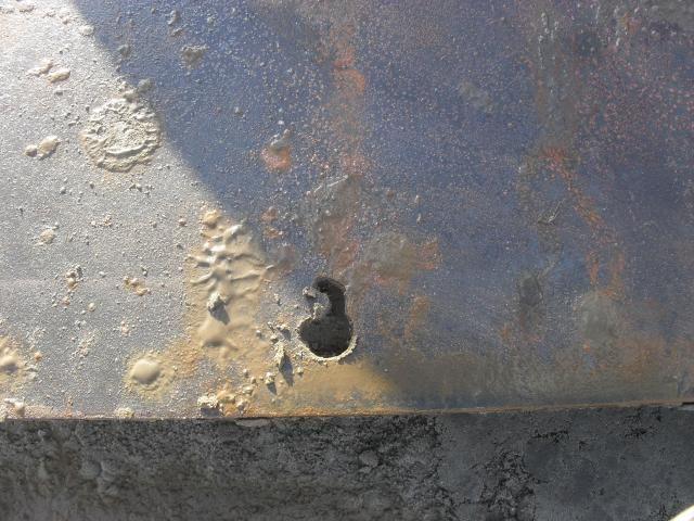 VERMIST: 26 Rijplaten staal van Rens de Bruijn / B.R.L. BV Lopikerkapel