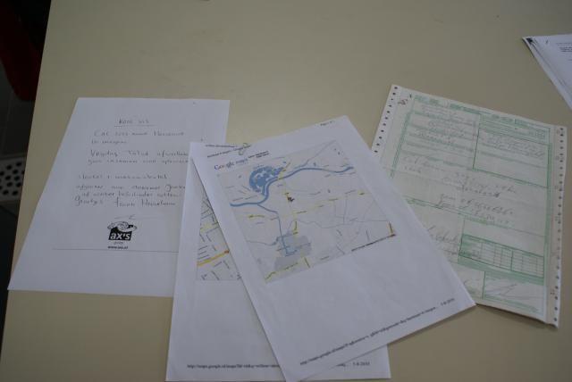 De documenten die Bruurs verzamelde om toch zoveel mogelijk vast te leggen. Het hielp bij het aantonen van zijn onschuld.