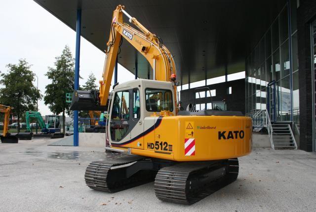 KATO HD512 voor Loonbedrijf Winkelhorst V.O.F. uit Rekken