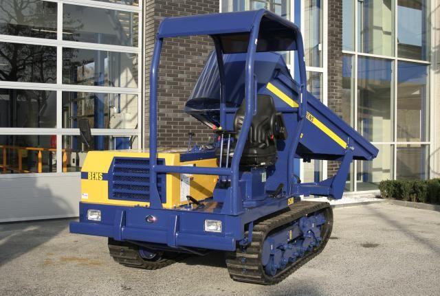 BENS 250 R rupsdumper voor Transportbedrijf Bouwman uit Renesse