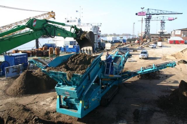 G.M. Damsteegt investeert ook in Powerscreen Warrior 1800