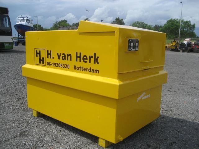 De vermiste gasolie tank van H. van Herk uit Rotterdam