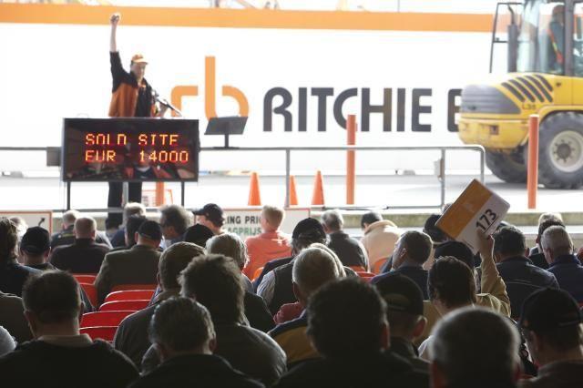 Ritchie Bros. Auctioneers organiseert veilingen in Moerdijk