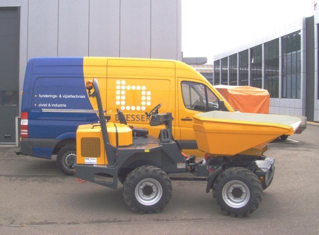 Bergmann 2030 dumper (low-model) voor Bresser Civiel en Industrie uit 'S-Gravendeel