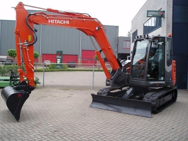 Hitachi ZX 85 USB-3 midigraver voor A.J. Benschop uit Schalkwijk