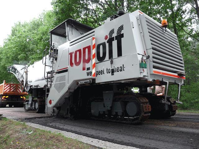 Top-Off met slogan