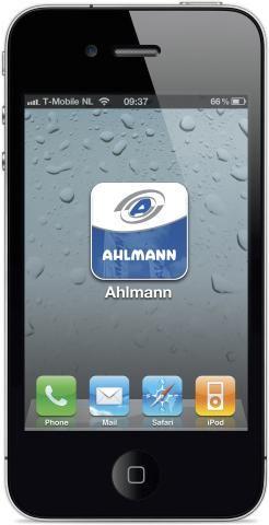 Entreeding.com levert eerste iPhone App aan Ahlmann Nederland
