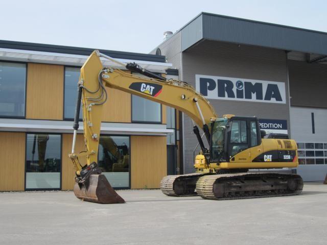 Caterpillar 323 DL voor  Van der Krogt uit Leidschendam geleverd door Prima Equipment