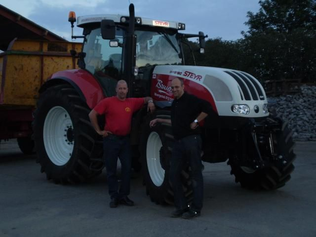 Steyr CVT 6180 tractor voor Bruurs uit Moergestel