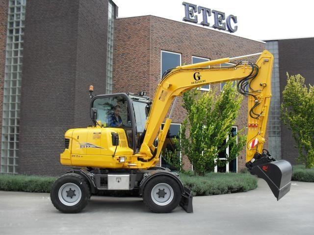 ETEC 806-II M mobiele midi graafmachine voor De Gier uit Benschop
