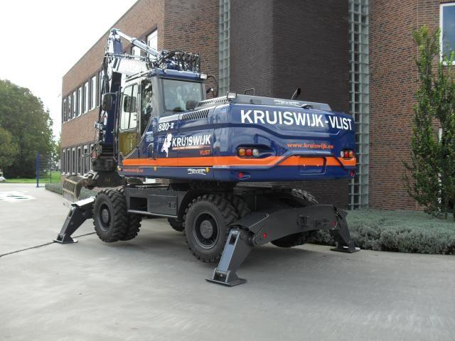 ETEC 820-II M mobiele graafmachine voor Kruiswijk Materieel B.V. uit Vlist