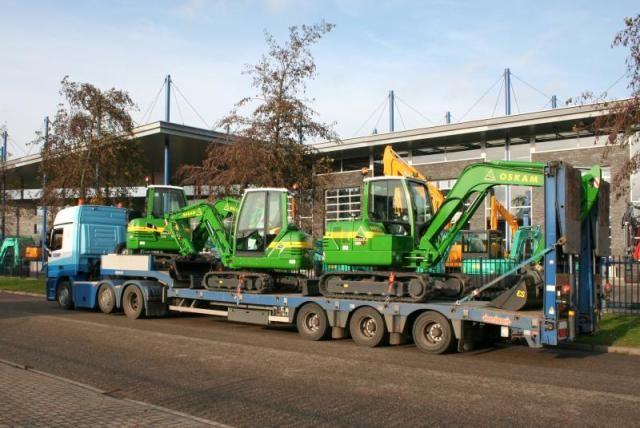 3x IHI minigravers voor Oskam uit Utrecht