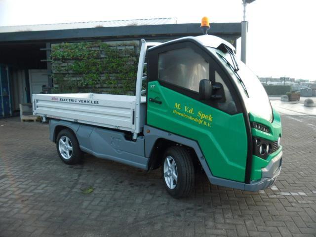 Elektrische auto voor M. van der Spek Groenprojecten B.V uit Benthuizen
