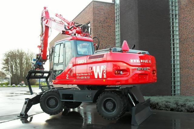 ETEC 820-II M mobiele graafmachine voor Woud Wormer uit Westknollendam