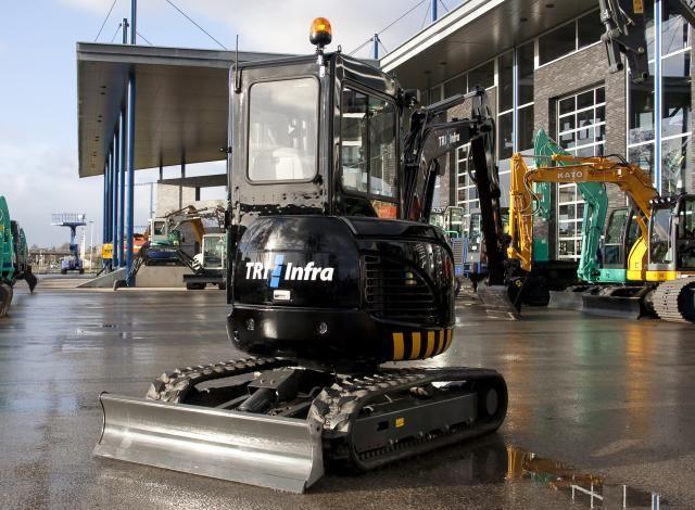 IHI 30VX minigraver voor TRI Infra uit Stellendam