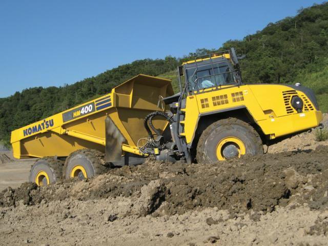 Bia introduceert Komatsu HM400-3 knikdumper