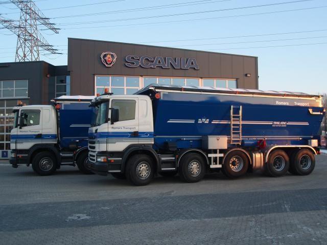 2 Scania's G 400 voor Romers uit Rozenburg