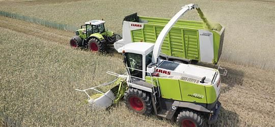 Reesink is via Claas importeur Kamps de Wild ook actief in de agrarische sector