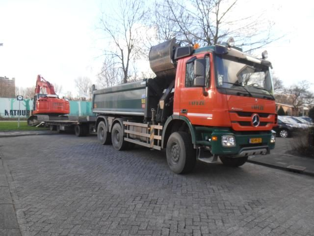 De vermiste vrachtwagen van Crok Transport B.V. te Westzaan