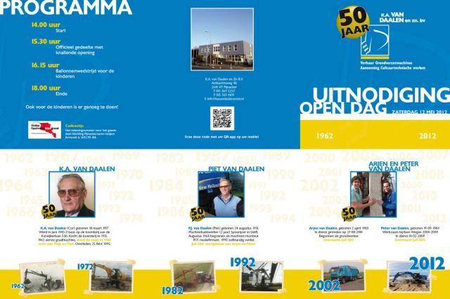 12 mei Open dag 50 jarig K.A. van Daalen uit Pijnacker