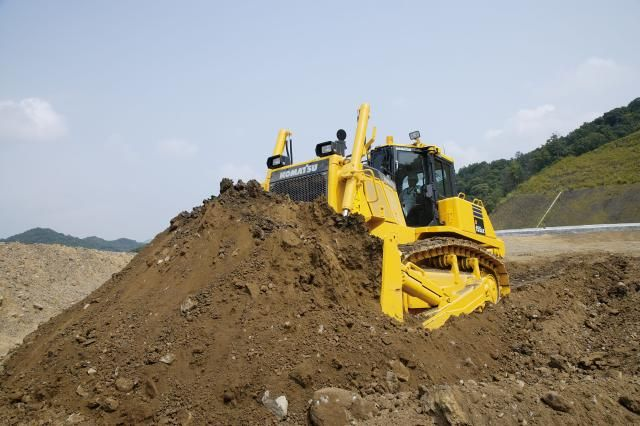Bia kondigt nieuwe Komatsu D155AX-7 bulldozer aan