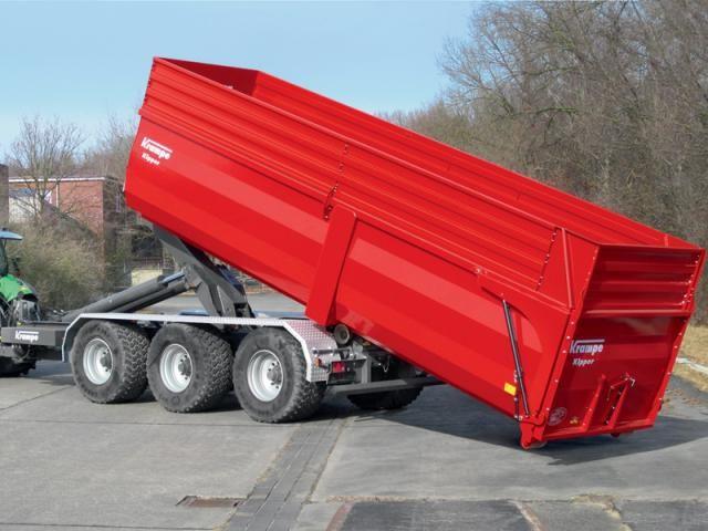 Krampe Haakarmsysteem: nu voor containers met een lengte tot 8,5 mtr.
