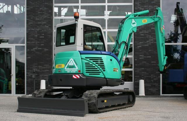 IHI 55VX midigraver voor  Aannemingsbedrijf en Handelsonderneming Enkhuizen B.V.